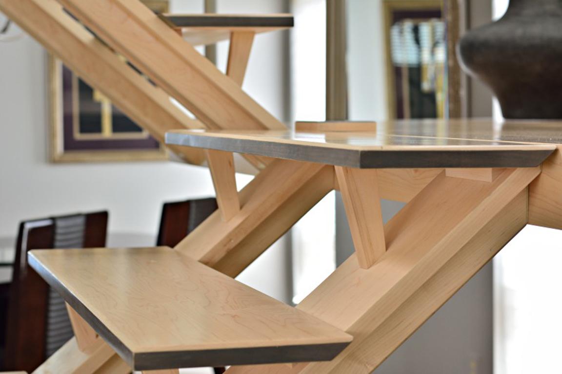 Custom Wood Staircases Phoenix Az Design Build