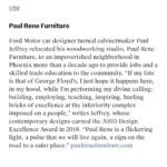 paul jeffrey of paul rene quoted in Architectural Digest Pro