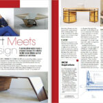 atomic ranch design magazine article featuring paul jeffrey of paul rene custom modern furniture phoenix Scottsdale az