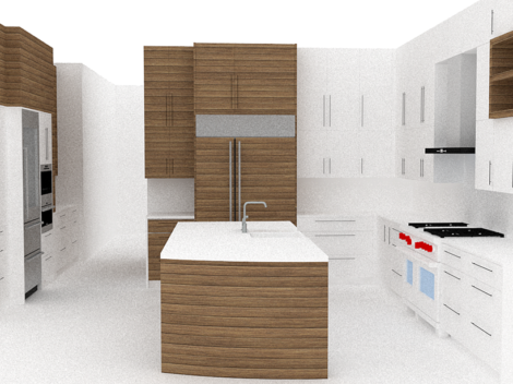 contemporary custom made cabinets kitchen for kitchen remodel designed by paul rene phoenix az