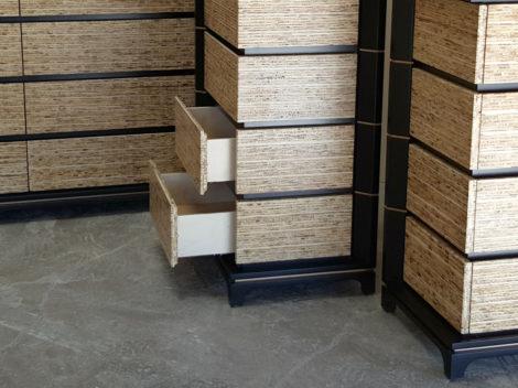 custom dresser kirei board and stained alder by paul rene