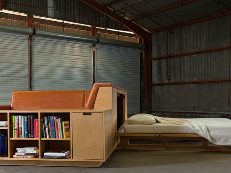 custom leather sofa sleeper by paul rene furniture and cabinetry phoenix az